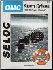 1986 - 1998 OMC SP/SX/SX Cobra, Cobra, King Cobra & DP/DP DuoProp Stern Drive Repair Manual (SKU: 089330056X)
