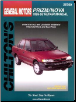 1985 - 1993 Chevrolet Nova & Geo Prizm Chilton's Total Car Care Manual (SKU: 080198422X)