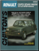 1975 - 1985 Renault Coupes / Sedans / Wagons , Chilton's Total Car Care Manual (SKU: 0801990793)