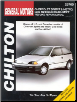 1985 - 2000 Chevrolet Metro, Sprint, Swift, Chilton's Total Car Care Manual (SKU: 1563924277)