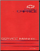 1993 Chevrolet Caprice Factory Service Manual (SKU: ST32993)