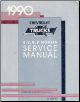 1990 Chevrolet / GMC R/V, G, P Models Factory Service Manual (SKU: ST33090)