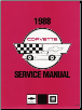 1988 Chevrolet Corvette Factory Manual- 2 Volume Set (SKU: ST36488)