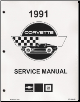 1991 Chevrolet Corvette Factory Service Manual - Reproduction (SKU: ST36491-EDM-SB)