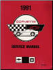 1991 Chevrolet Corvette Factory Service Manual (SKU: ST36491-USED)