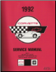 1992 Chevrolet Corvette Factory Service Manual - 2 Volume Set (SKU: ST36492)