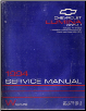 1994 Chevrolet Lumina Factory Service Manual - 2 Volume Set (SKU: ST37994-1-2)