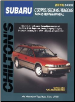 1985 - 1996 Subaru Coupes, Sedans, Wagons, Chilton's Total Car Care Manual (SKU: 0801987970)