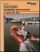 1977 - 1984 Suzuki 2-140 HP Outboard Clymer Repair Manual (SKU: B780-0892874066)