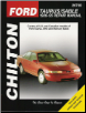 1986 - 1995 Ford Taurus, Taurus SHO & Mercury Sable Chilton's Total Car Care Manual (SKU: 0801986877)