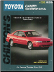 1983 - 1996 Toyota Camry, Chilton's Total Car Care Manual (SKU: 0801989558)
