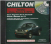 1983 - 2000 Chilton's TOYOTA Cars, Trucks & SUVs Repair CD-ROM (SKU: 1401880711)