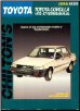 1970 - 1987 Toyota Corolla, Chilton's Total Car Care Manual (SKU: 0801985862)
