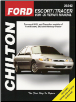 1991 - 2002 Ford Escort & Mercury Tracer Chilton's Total Car Care Manual (SKU: 1563928932)