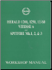 1959 - 1970 Triumph Herald / Vitesse 6 / Spitfire Mk I, Mk II, Mk III Workshop Manual (SKU: BENTLEY-YTM1)