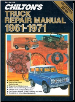 1961 - 1971 Chilton's Truck & Van Repair Manual (SKU: 080196198X)