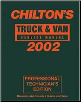 2002 Chilton's Truck & Van Service Manual, Shop Edition (1998 - 2001 Year coverage) (SKU: 0801993482)