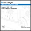 1995 - 1997 Volkswagen Passat, Passat Wagon Original Factory Repair Manual  on CD-ROM (SKU: BENTLEY-VB45)