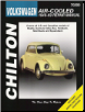 1949 - 1969 Volkswagen Air Cooled: Beetle, Karmann Ghia, Bus, Fast, Notch & Squareback, Chilton's Total Car Care Manual (SKU: 0801990734)