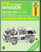 1980 - 1983 VW Air-Cooled Vanagon Haynes Repair Manual (SKU: 1850100292)