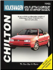 1990 -1998 Volkswagen Golf / Jetta / Cabriolet, Chilton's Total Car Care Manual (SKU: 0801991226)
