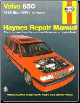 1993 - 1997 Volvo 850, Haynes Repair Manual (SKU: 1563923556)