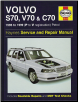 1996 - 1999 Volvo S70 Saloon, V70 Estate & C70 Coupe including Turbo & T5 Versions Haynes Repair Manual (SKU: 9780857339546)