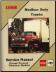 1988 GMC Medium Duty Trucks (Except Forward/Tiltmaster Models) Factory Service Manual - Softcover (SKU: x8833)
