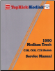 1990 GMC TopKick / Kodiak Medium Duty Truck Factory Service Manual (SKU: X9033)