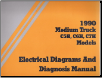 1990 GMC TopKick/Kodiak Medium C5H, C6H & C7H Models Electrical Diagnosis & Wiring Diagrams (SKU: X9041EDD)