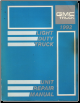 1992 GMC Light Duty Truck Unit Repair Manual (SKU: X9237)