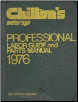 1969 - 1976 Chilton's Professional Labor Guide and Parts Manual (SKU: 080196329X)