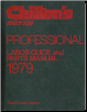 1973 - 1979 Chilton's Labor Guide and Parts Manual (SKU: 0801967449)