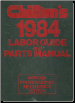 1977 - 1984 Chilton's Labor Guide and Parts Manual (SKU: 0801973473)
