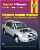 2003 - 2009 TOYOTA 4RUNNER Haynes Repair Service Workshop Manual (SKU: 1563927586)