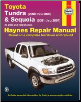 2000 - 2006 Toyota Tundra and 2001 - 2007 Sequoia Haynes Repair Manual (SKU: 1563928485)