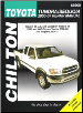 2000 - 2006 Toyota Tundra and 2001 - 2007 Sequoia Chilton's Repair Manual (SKU: 1563929120)