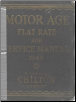 1939 - 1948 Chilton Flat Rate & Service Manual (SKU: 1948CHILTON)
