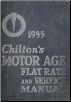 1940 - 1955 Chilton Flat Rate & Service Manual 26th Edition (SKU: 1955CHILTON)