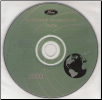 2000 Model Year Ford Truck & Van: Factory Workshop Information CD-ROM (SKU: FCS1255100T7)