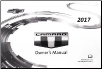 2017 Chevrolet Camaro Owner's Manual (SKU: 23484739A)