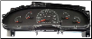 1999 - 2001 Ford E150, E250, E350, Cut Away, SD Econoline Van Instrument Cluster Repair Gas Only (SKU: 1C2F10849CA)