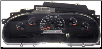 1996 Ford F150 F250 Instrument Cluster Repair Gas Only, w/o Tach (SKU: F65F10849AF)