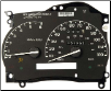 1998 - 2003 Ford Explorer, Ranger Instrument Cluster Repair (SKU: 1L5F17C290GA)