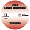 2002 Jeep Wrangler Factory Service Repair Workshop Shop Manual CD (SKU: 81-370-02063CD)