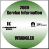 2009 Jeep Wrangler Factory Service Repair Workshop Shop Manual CD (SKU: 81-370-09063A-CD)