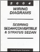 2004 Chrysler Serbring Sedan / Convertible / Dodge Stratus Sedan Wiring Diagrams (SKU: 8127004325)