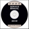 2005 Dodge Neon Service Manual- CD Rom (SKU: 8127005028CD)