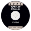 2005 Dodge Viper Service Manual- CD Rom (SKU: 812700503CD)