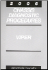 2006 Dodge Viper Chassis Diagnostic Procedures (SKU: 8127006022)